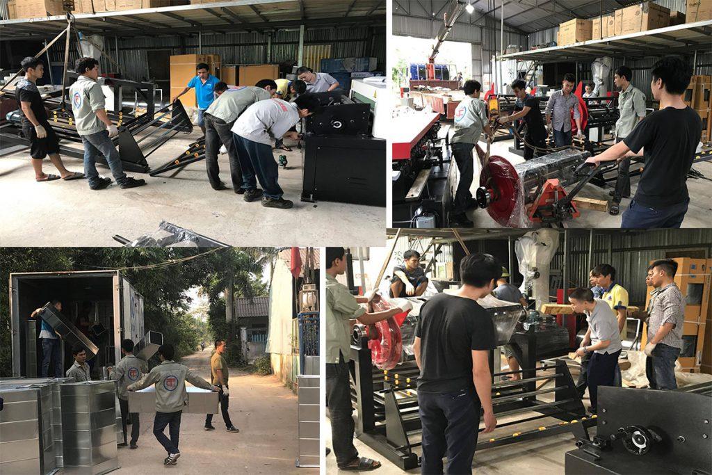 Đội ngũ kỹ sư công ty Kaiyo Việt Nam