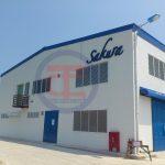 Hệ thống thông gió - hút mùi được lắp đặt nhà máy sớn Sakura