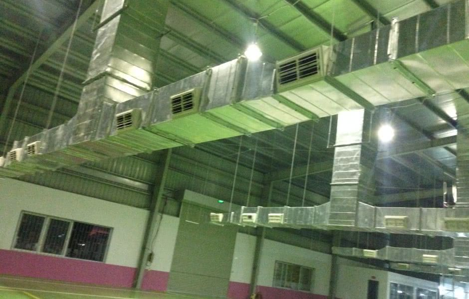 Hệ thống làm mát nhà xưởng tại nhà máy ABC Bắc Ninh