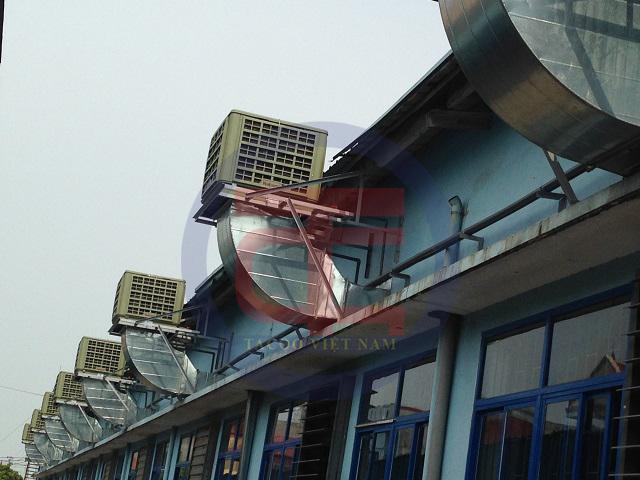 Máy làm mát hiệu suất cao được lắp đặt hoàn chỉnh trong nhà máy