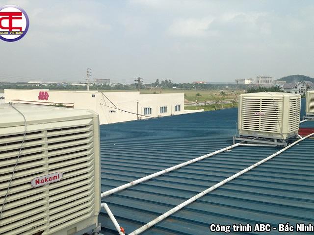 Máy làm mát tại ABC Bắc Ninh