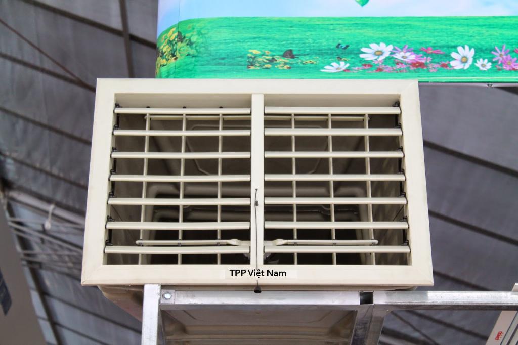 Hình ảnh cửa gió nhựa được Kaiyo Việt Nam cung cấp