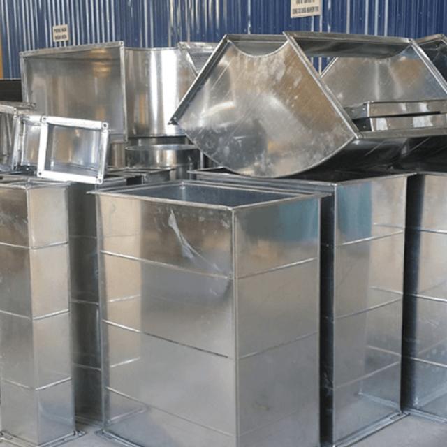 Ống gió vuông được sản xuất tại Kaiyo Việt Nam