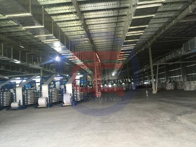 Làm mát nhà xưởng Thái Dương