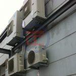 Hệ thống điều hoà trung tâm được lắp đặt hoàn chỉnh