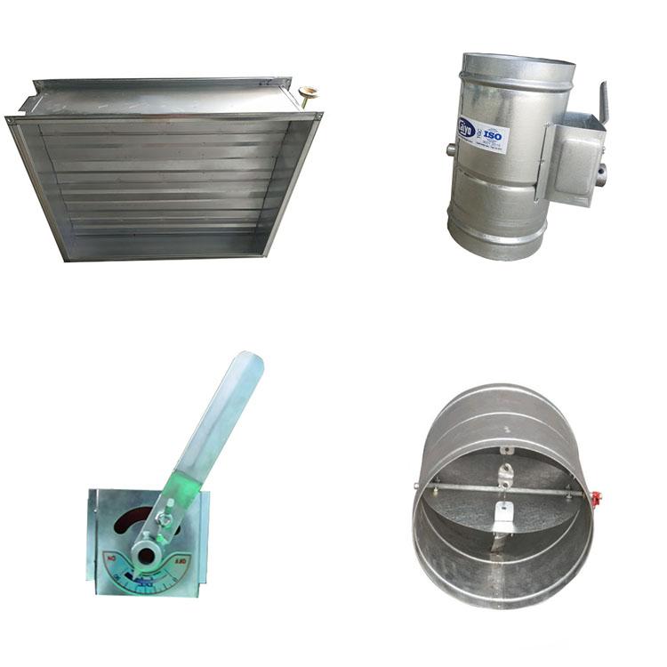 sản xuất phụ kiện ống gió