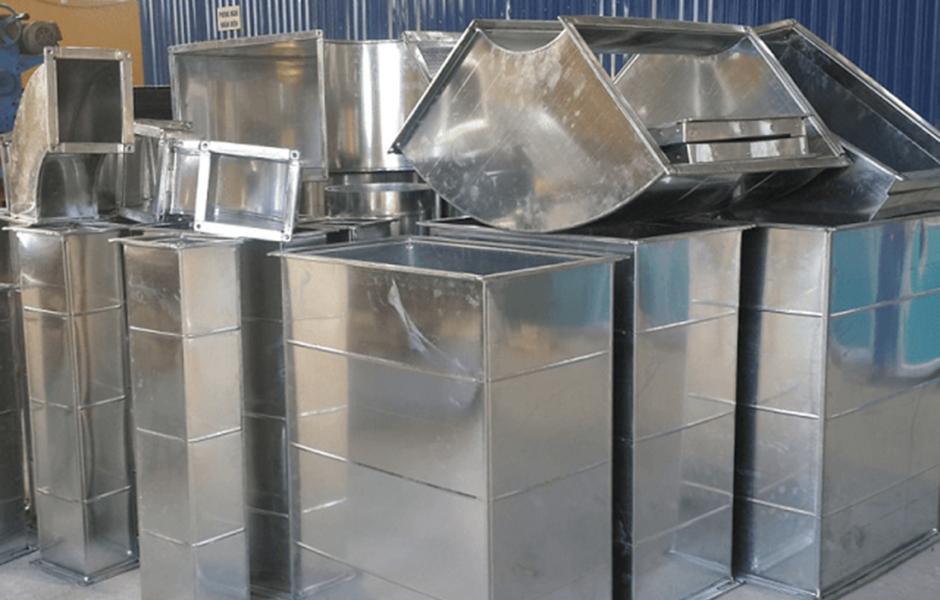Hệ thống sản phẩm ống gió vuông và phụ kiện