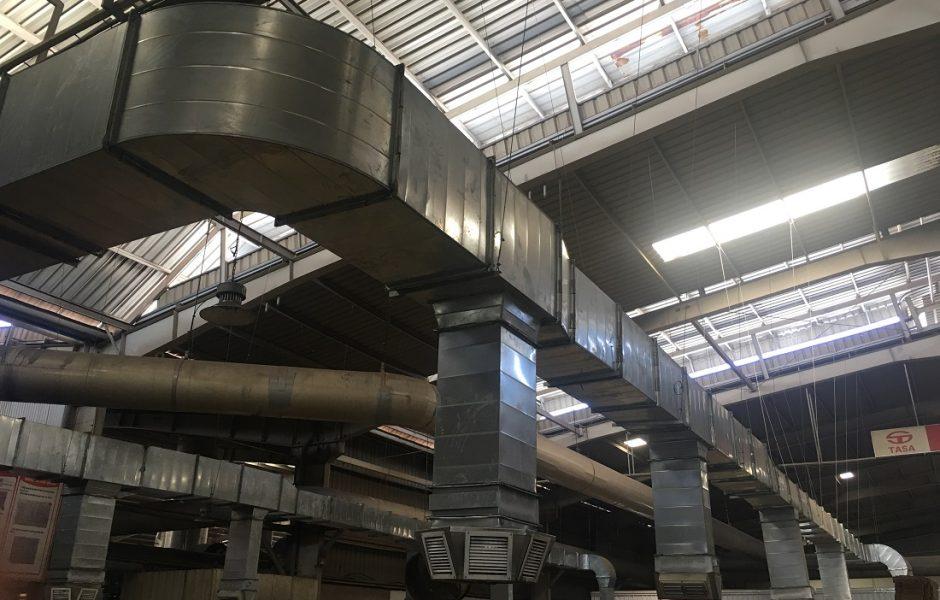 Hệ thống thông gió làm mát nhà xưởng