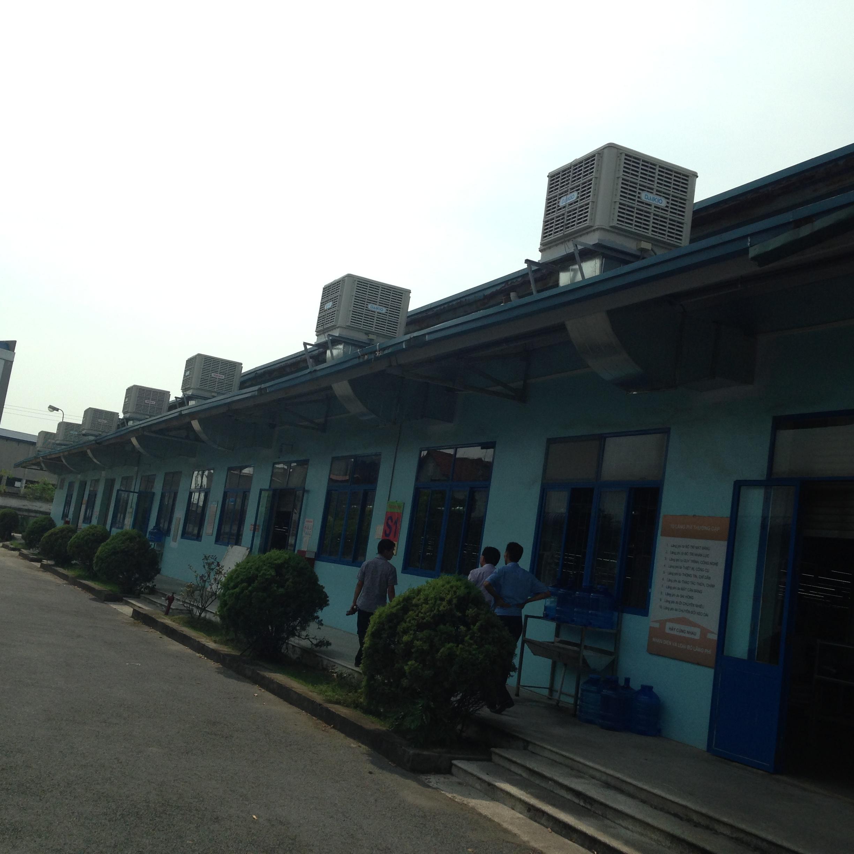 Hệ thống máy làm mát được lắp đặt bởi Kaiyo Việt Nam