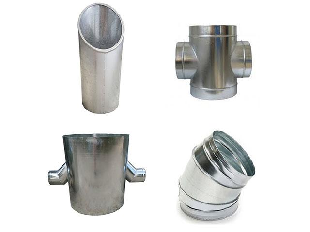 Sản phẩm phụ kiện ống gió tròn chất lượng