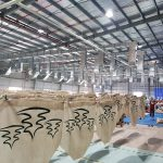 Hệ thống thông gió làm mát nhà xưởng được lắp đặt tại nhà máy Thái Dương