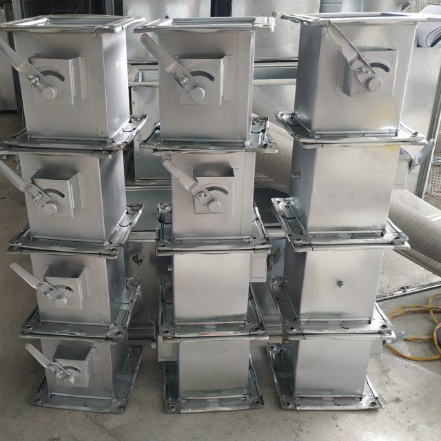 Sản phẩm van gió vuông được sản xuất tại Kaiyo Việt Nam