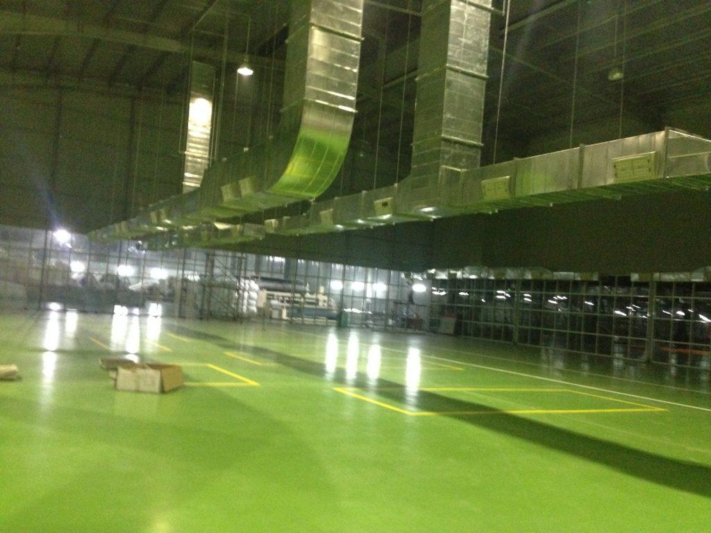 Hệ thống làm mát nhà máy ABC Bắc Ninh
