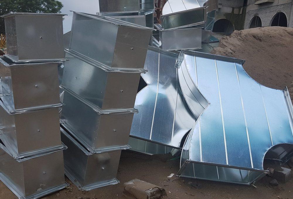 Sản phẩm ống gió và phụ kiện được cung cấp bởi Kaiyo Việt Nam