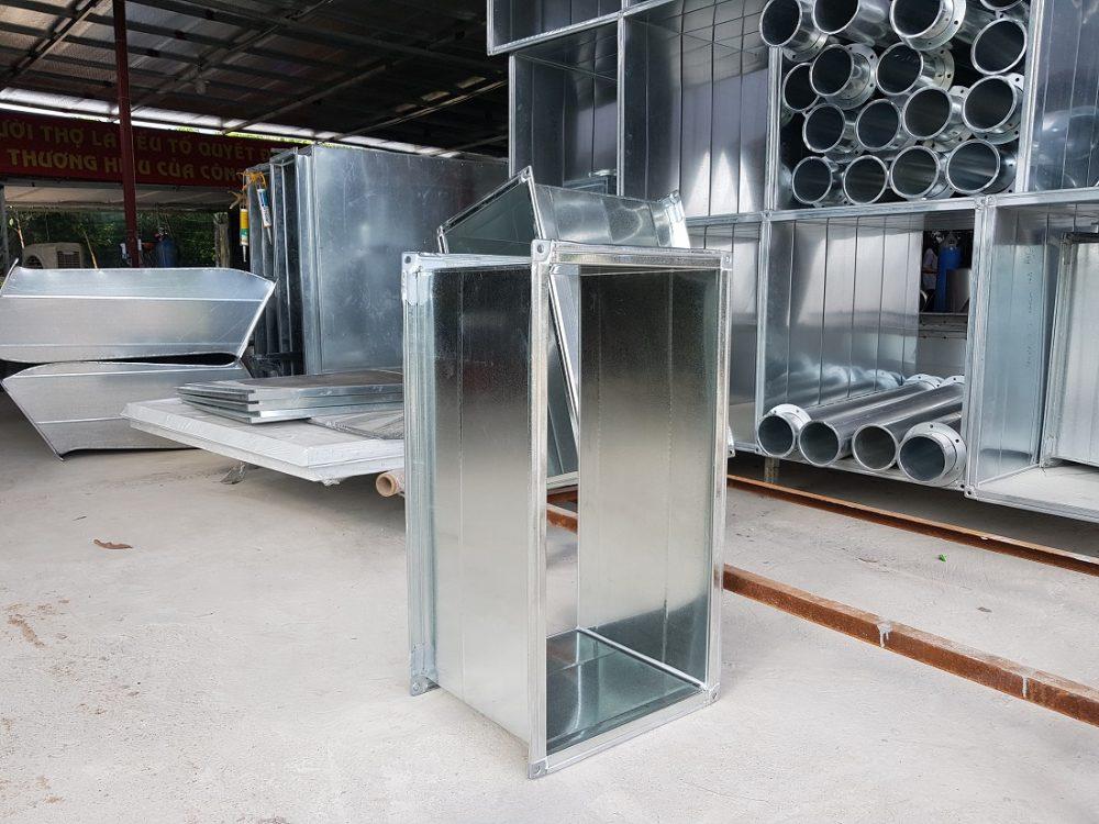 Sản phẩm ống gió vuông chất lượng
