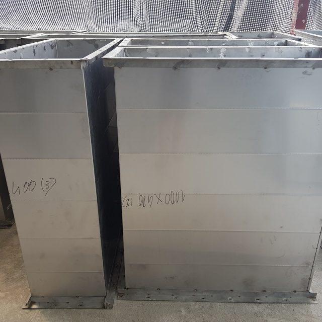 Sản phẩm ống gió vuông được cung cấp từ Kaiyo Việt Nam