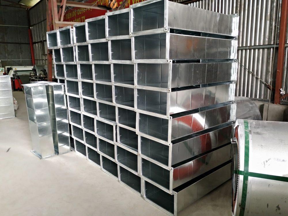 Sản phẩm ống gió vuông được cung cấp bởi Kaiyo Việt Nam