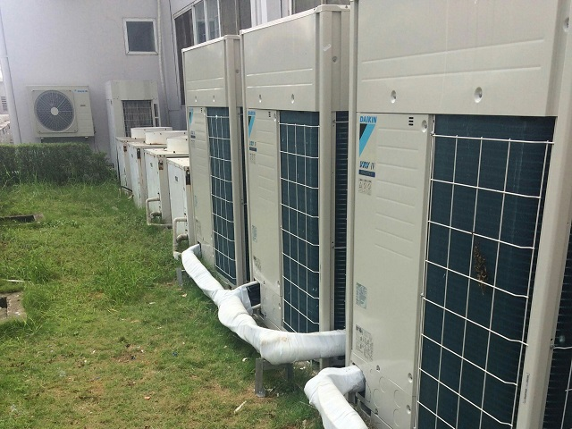 Hệ thống điều hòa không khí được sửa chữa bởi Kaiyo Việt Nam