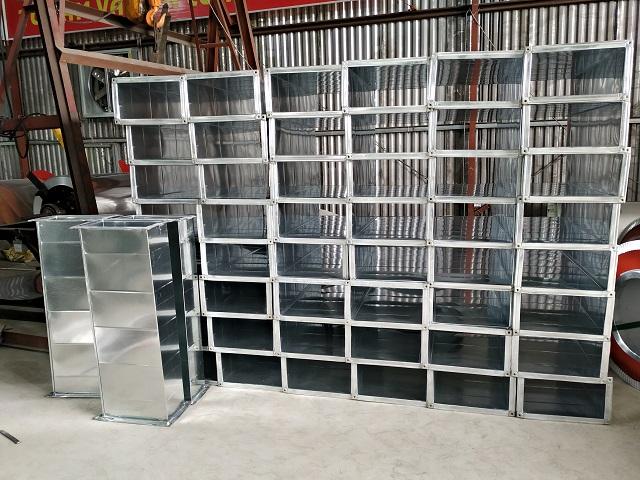 Hệ thống sản phẩm ống gió được cung cấp bởi Kaiyo Việt Nam