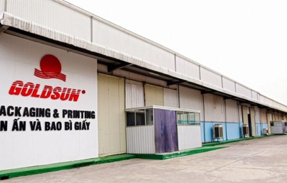 Cung cấp ống gió cho nhà máy Goldsun Bắc Ninh