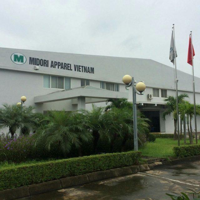 Lắp đặt hệ thống điều hòa tại nhà máy Midori Vĩnh Phúc