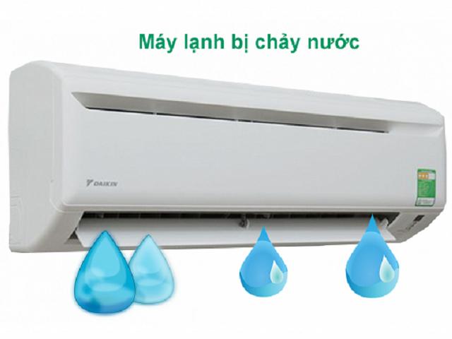 Hiện tượng điều hòa không khí bị chảy nước