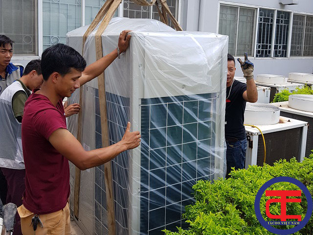 Lắp đặt hệ thống điều hoà trung tâm tại Midori Vĩnh Phúc