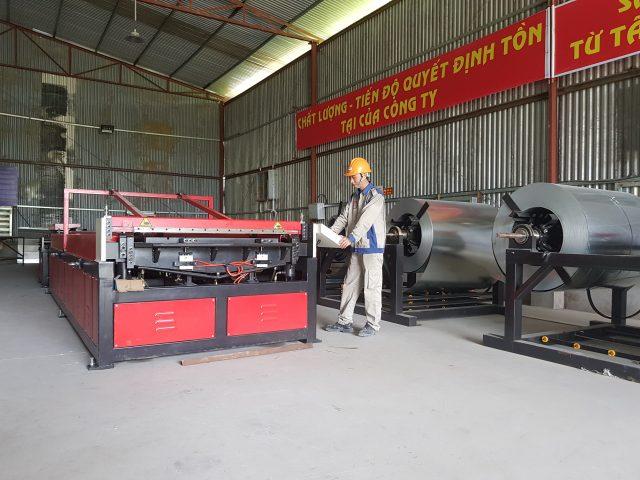 Sản xuất ống gió tại Kaiyo Việt Nam