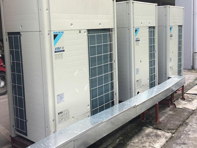 Hệ thống điều hòa công nghiệp được lắp đặt hoàn chỉnh