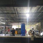 Hệ thống khí nén được sử dụng đối với máy cắt tôn CNC Plasma