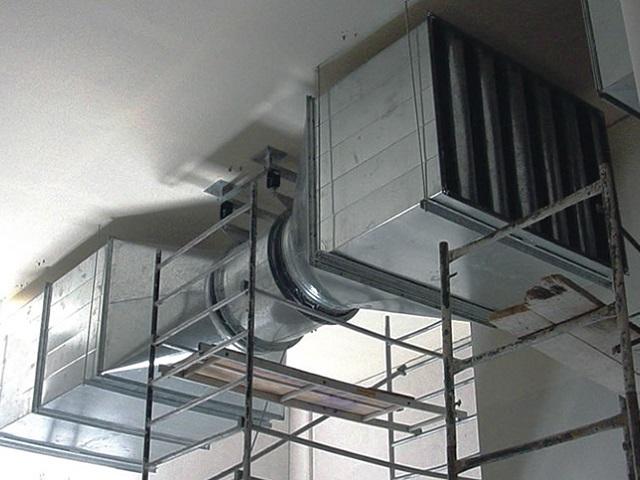 Thi công lắp đặt tiêu âm ống gió