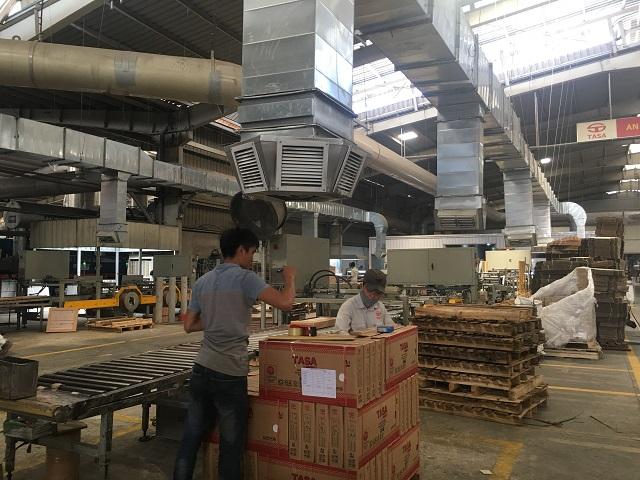 Hệ thống đường ống gió được lắp đặt bởi đơn vị Kaiyo Việt Nam