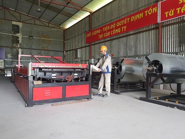 Hệ thống dây chuyền sản xuất ống gió tự động Auto Line VI