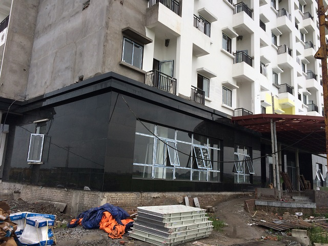 Khu nhà ký túc xá trường Đại học Công đoàn cơ sở 2