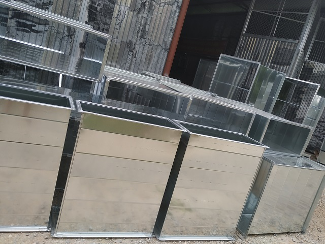 Sản phẩm ống gió vuông bích TDF