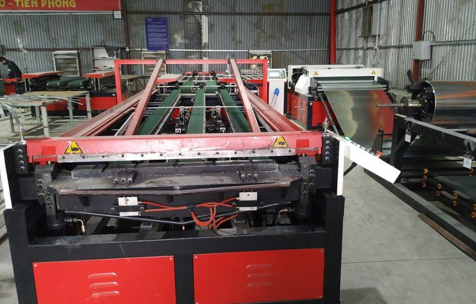 Hệ thống dây chuyền sản xuất ống gió tự động