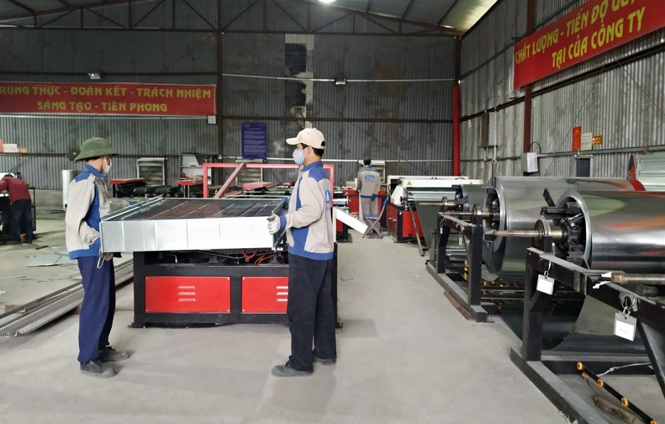 Dây chuyền sản xuất ống gió tự động Auto Line VI
