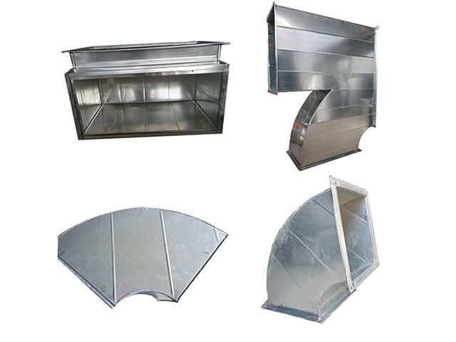 Một số sản phẩm phụ kiện ống gió vuông