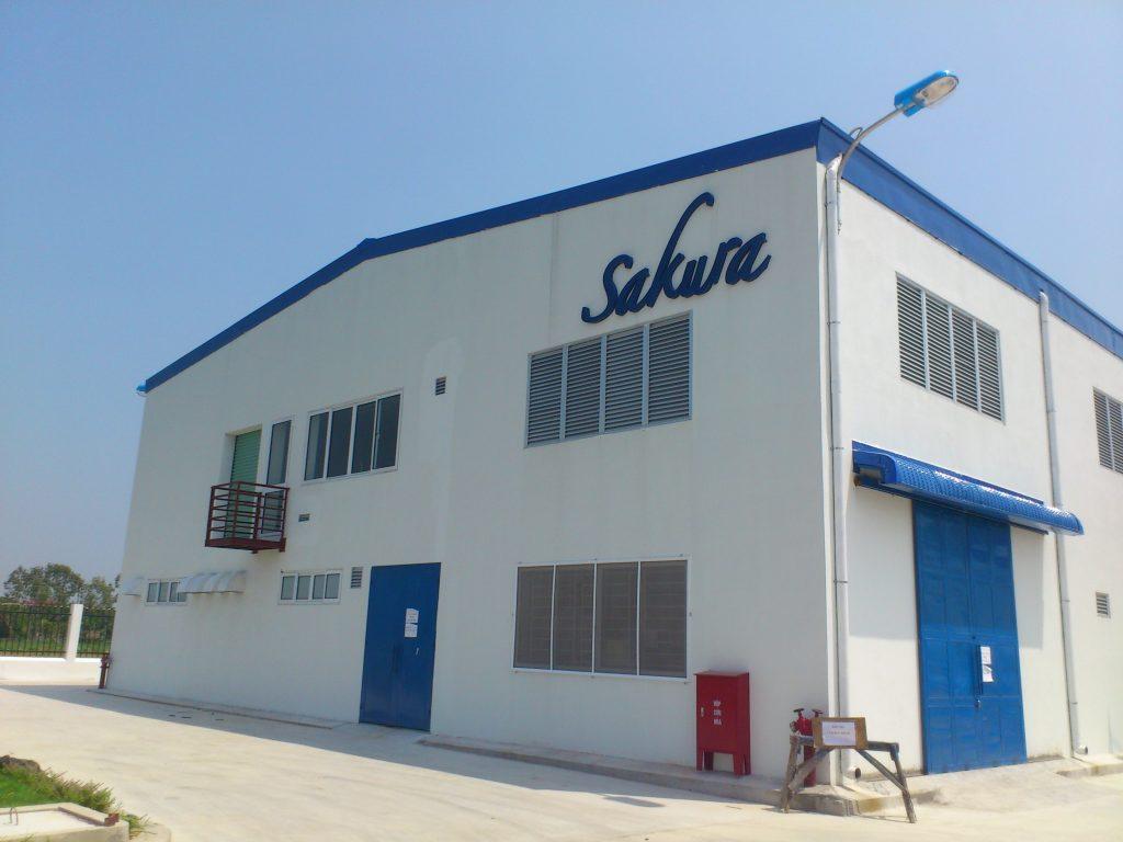 Nhà máy sơn Sakura