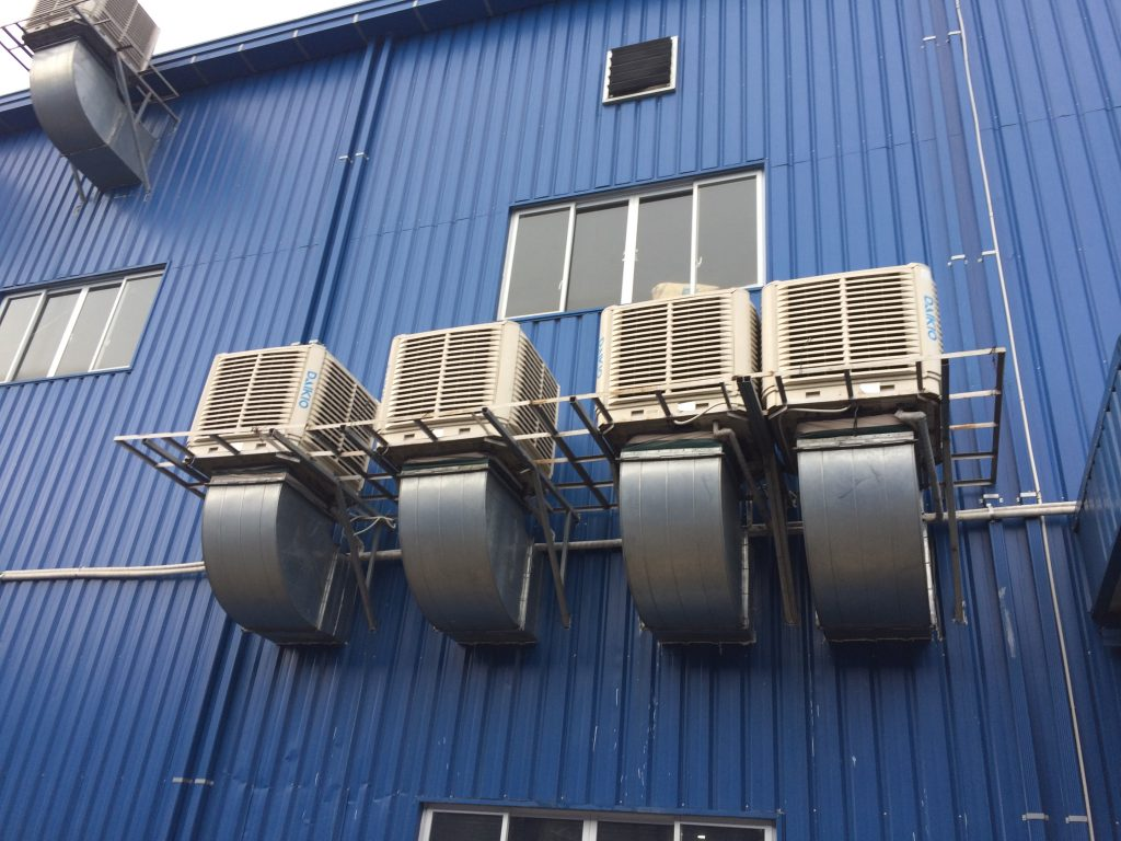 Hệ thống máy làm mát bằng gió