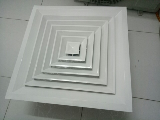 Cửa gió khuếch tán vuông