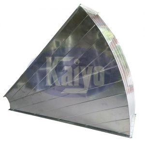 Cút gió vuông 90 độ bích TDF