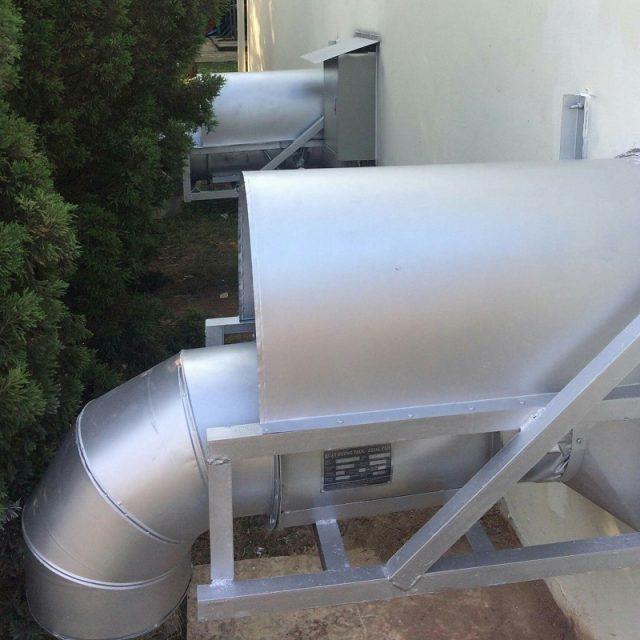 Lắp đặt hệ thống hút khí phòng hóa chất được thực hiện bởi Kaiyo Việt Nam
