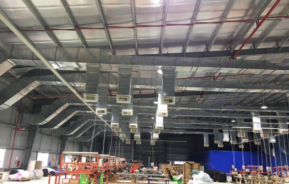 Hệ thống đường ống thông gió