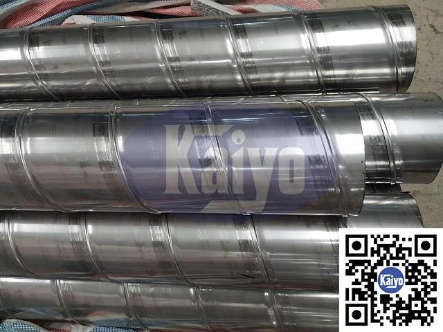 Ống gió tròn xoắn inox được sản xuất tại Kaiyo