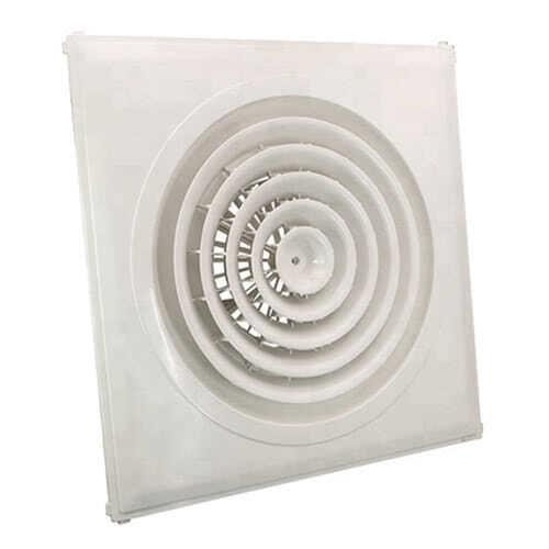 Cửa gió khuếch tán khung vuông được cung cấp bởi Kaiyo Việt Nam