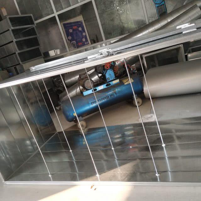 Tăng cứng ống gió bằng ty ren