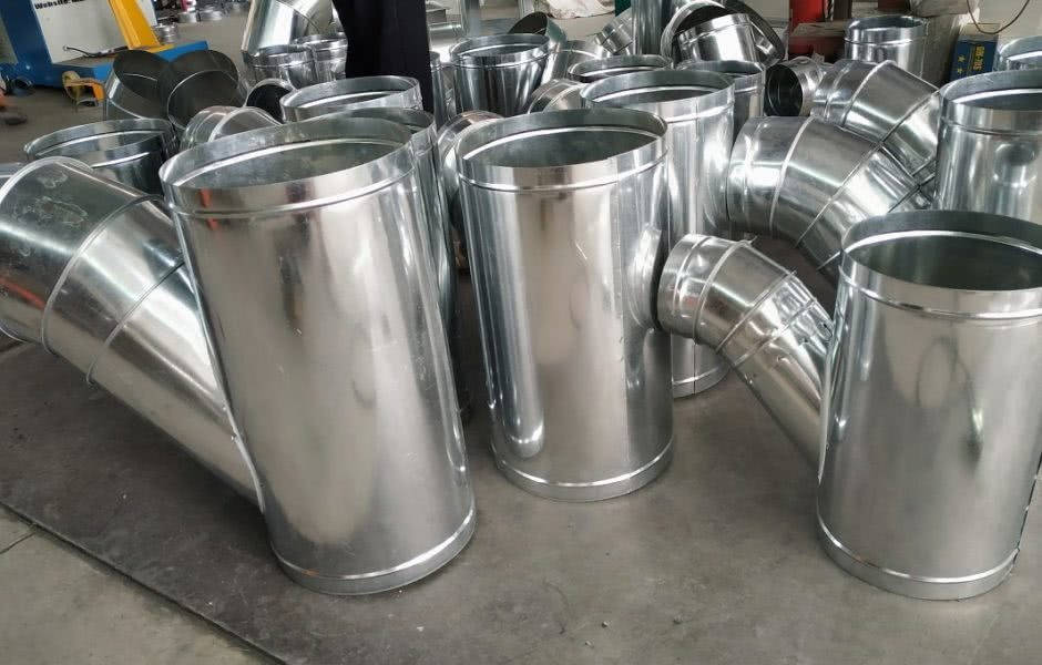 Sản phẩm phụ kiện ống gió chất lượng