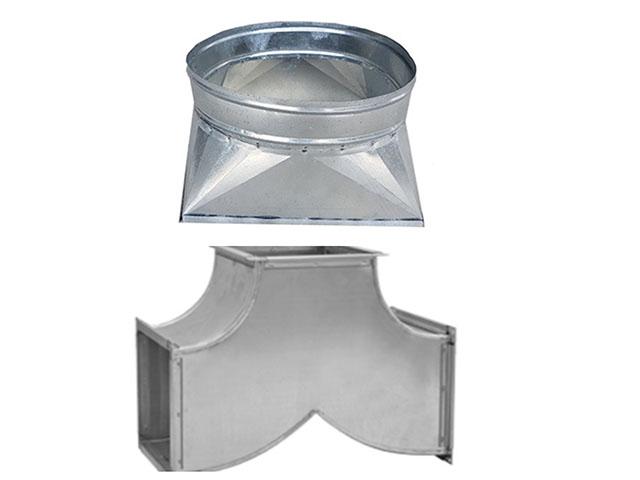 Sản phẩm phụ kiện ống gió vuông được sản xuất tại Kaiyo Việt Nam