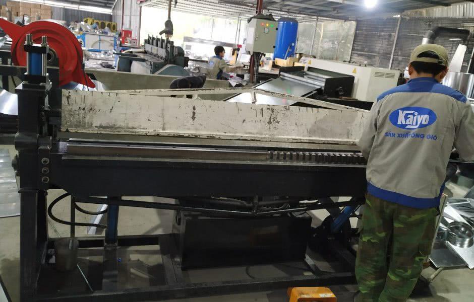 Hoạt động sản xuất được ghi nhận tại xưởng sản xuất Việt Nam
